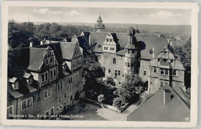 Glauchau Glauchau Vorderschloss Hinterschloss * / Glauchau /Zwickau LKR