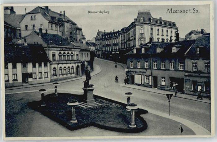 Meerane Meerane Bismarckplatz x / Meerane /Zwickau LKR
