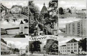 Moers Moers Rathaus Neumarkt Gymnasium x / Moers /Wesel LKR