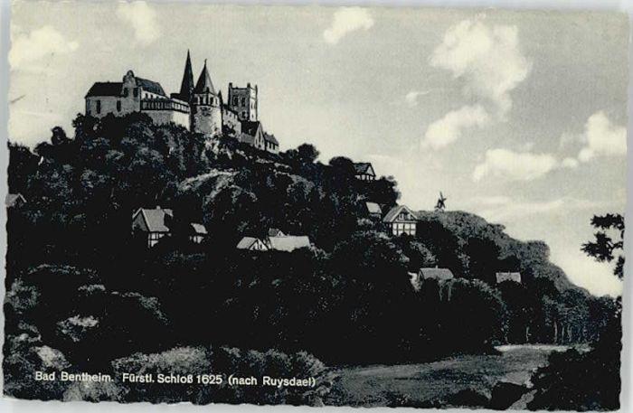 Bad Bentheim Bad Bentheim Schloss x / Bad Bentheim /Grafschaft Bentheim LKR