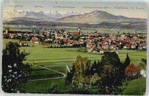 Weilheim Oberbayern Weilheim Oberbayern Ammergebirge Saeuling Hohenpeissenberg * / Weilheim i.OB /Weilheim-Schongau LKR