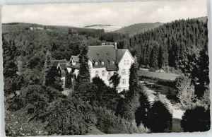 Geisweid Geisweid Erholungsheim Patmos x / Siegen /Siegen-Wittgenstein LKR