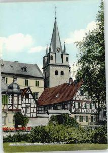 Oestrich-Winkel Oestrich-Winkel Pfarrkirche St Martin * / Oestrich-Winkel /Rheingau-Taunus-Kreis LKR