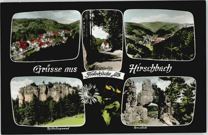 Hirschbach Oberpfalz Hirschbach Oberpfalz Stoffelmuehle Noristoerle * / Hirschbach /Amberg-Sulzbach LKR