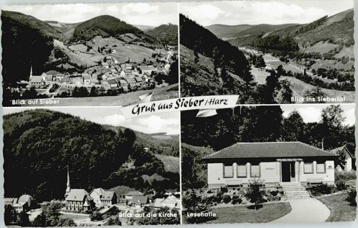 Sieber Sieber Kirche Lesehalle * / Herzberg am Harz /Osterode Harz LKR