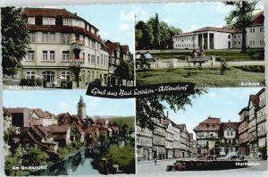 Bad Sooden-Allendorf Bad Sooden-Allendorf Hotel Werratal Marktplatz Kurhaus * / Bad Sooden-Allendorf /Werra-Meissner-Kreis LKR