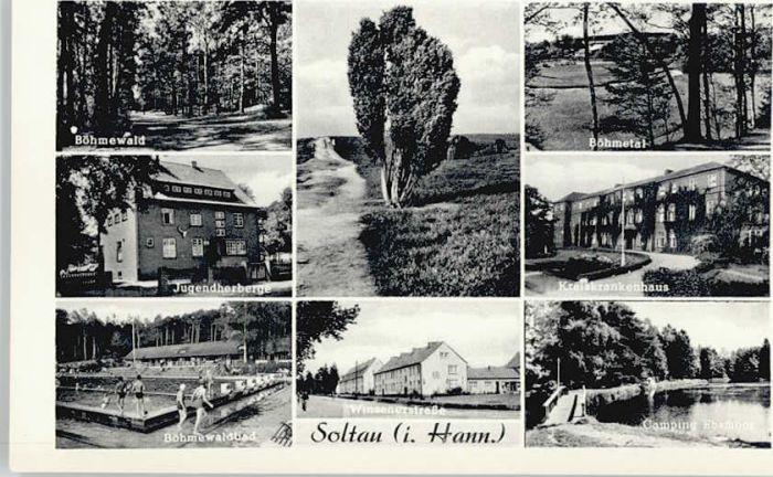 Soltau Soltau Jugendherberge Krankenhaus Boehmewaldbad * / Soltau /Soltau-Fallingbostel LKR