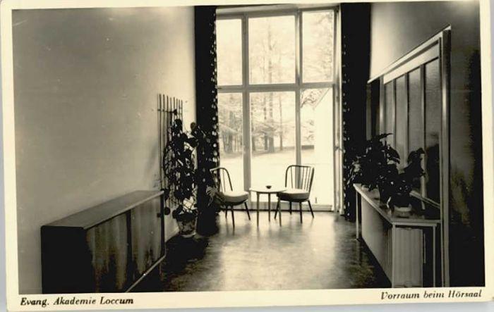 Loccum Loccum Akademie Hoersaal x / Rehburg-Loccum /Nienburg LKR