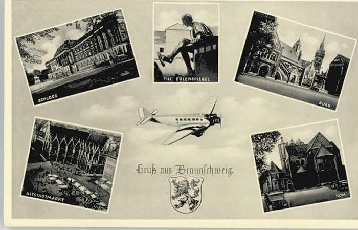 Braunschweig Braunschweig Schloss Till Eulenspiegel Burg Dom * / Braunschweig /Braunschweig Stadtkreis