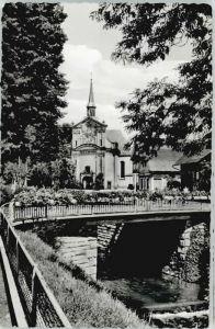 Zell Harmersbach Zell Harmersbach Kirche Maria zu den Ketten x / Zell am Harmersbach /Ortenaukreis LKR