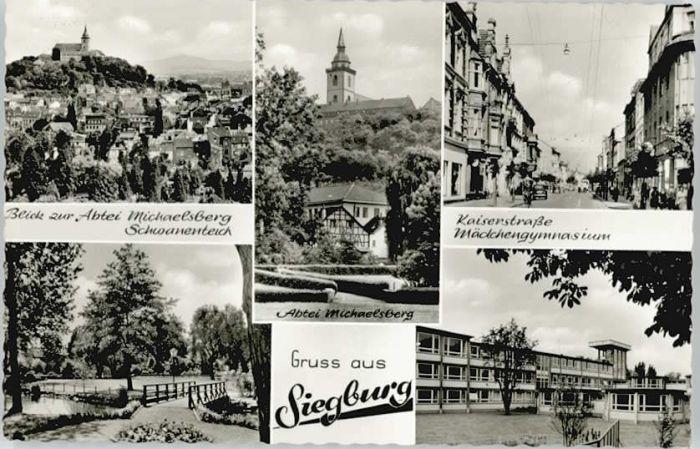 Siegburg Siegburg Kaiserstrasse Michaelsberg x / Siegburg /Rhein-Sieg-Kreis LKR