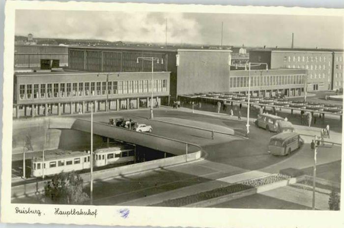 Duisburg Ruhr Duisburg Bahnhof * / Duisburg /Duisburg Stadtkreis