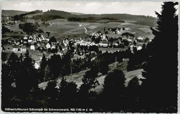 Schonach Schwarzwald Schonach  x / Schonach im Schwarzwald /Schwarzwald-Baar-Kreis LKR