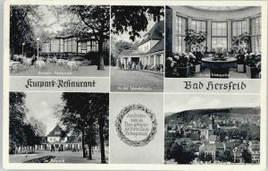 Bad Hersfeld Bad Hersfeld Kurpark Restaurant x / Bad Hersfeld /Hersfeld-Rotenburg LKR