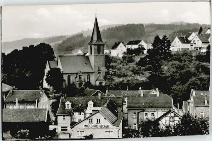 Ak derschlag gummersbach im oberbergischen kreis panorama - Mobelhaus gummersbach ...