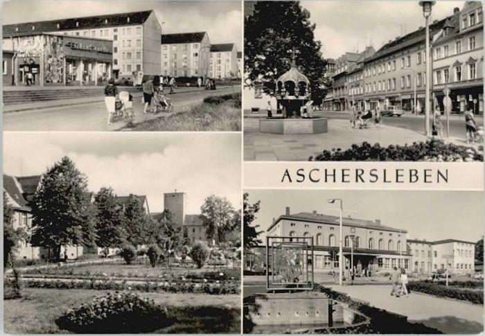 Aschersleben Aschersleben  * / Aschersleben /Salzlandkreis LKR