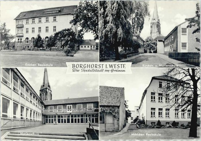Borghorst Westfalen Borghorst Westfalen Schule * / Steinfurt /Steinfurt LKR
