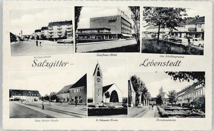 Salzgitter Salzgitter Schoelkegraben St Johannis Kirche  * / Salzgitter /Salzgitter Stadtkreis