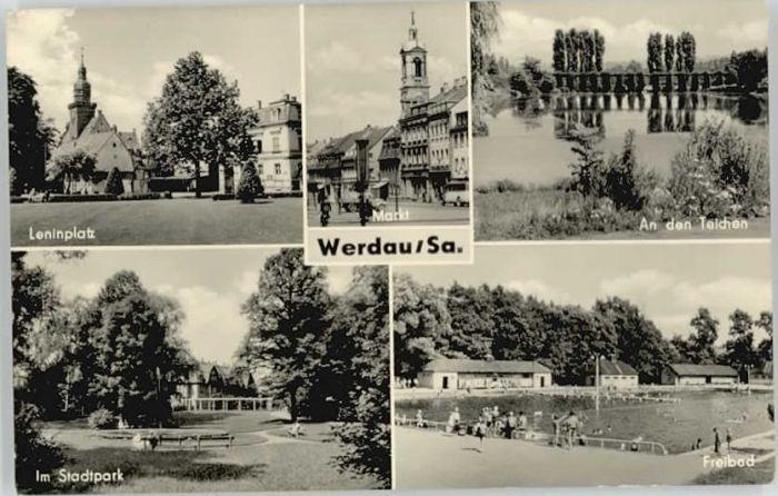 Werdau Sachsen Werdau Sachsen Leninplatz x / Werdau /Zwickau LKR