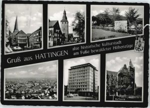 Hattingen Ruhr Hattingen  x / Hattingen /Ennepe-Ruhr-Kreis LKR