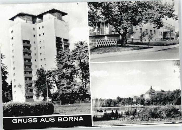 Borna Borna  * / Borna /Leipzig LKR
