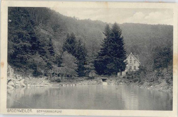 Badenweiler Badenweiler Bergmannsruhe x / Badenweiler /Breisgau-Hochschwarzwald LKR