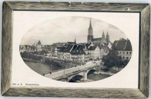 Ulm Donau Ulm Donaubruecke x / Ulm /Alb-Donau-Kreis LKR