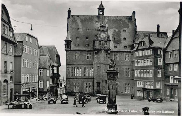Marburg Lahn Marburg Lahn Marktplatz * / Marburg /Marburg-Biedenkopf LKR