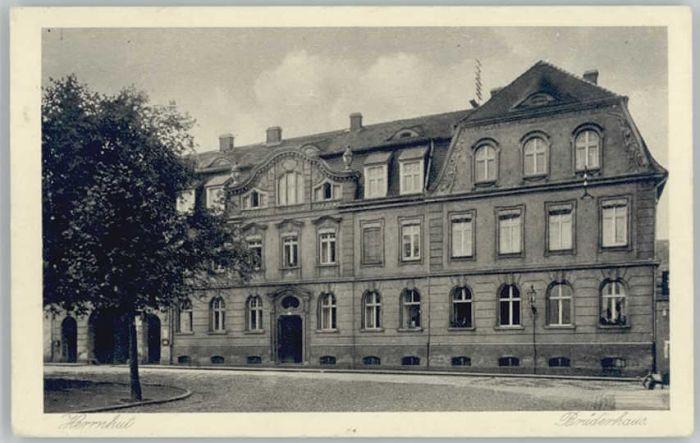 Herrnhut Herrnhut Bruederhaus x / Herrnhut /Goerlitz LKR