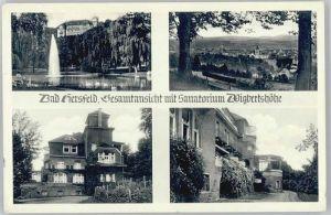 Bad Hersfeld Bad Hersfeld Sanatorium Wigbertshoehe * / Bad Hersfeld /Hersfeld-Rotenburg LKR