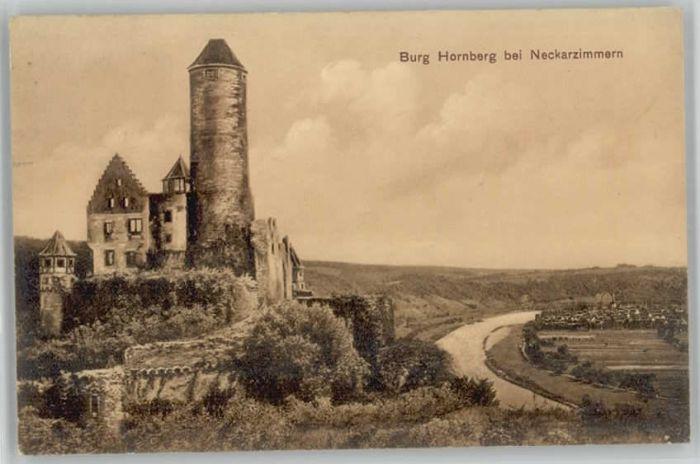 Neckarzimmern Neckarzimmern Burg Hornberg x / Neckarzimmern /Neckar-Odenwald-Kreis LKR