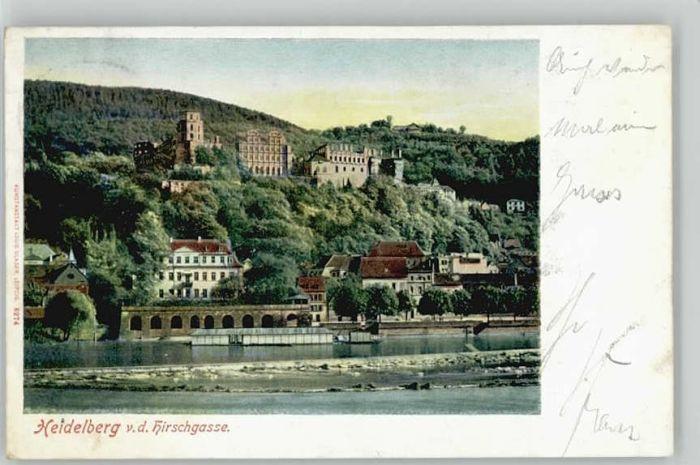 Heidelberg Neckar Heidelberg  x / Heidelberg /Heidelberg Stadtkreis