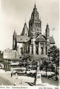 Mainz Rhein Mainz Gutenberg Denkmal  x / Mainz Rhein /Mainz Stadtkreis