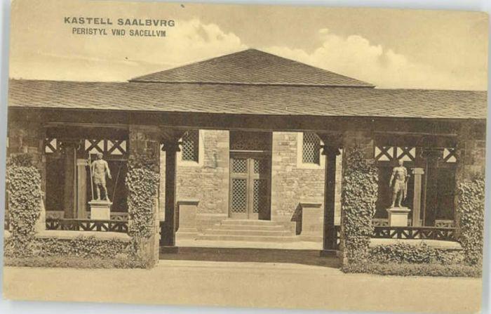 Saalburg Taunus Saalburg Taunus Bahnhof  * / Wehrheim /Hochtaunuskreis LKR