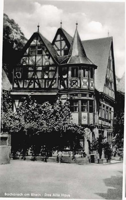 Bacharach Rhein Bacharach  x / Bacharach /Mainz-Bingen LKR
