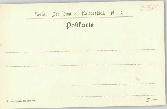 Halberstadt Halberstadt  * / Halberstadt /Harz LKR 1