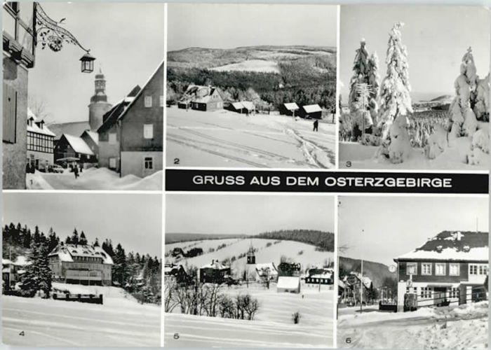 Geising Erzgebirge Geising  * / Geising Osterzgebirge /Saechsische Schweiz-Osterzgebirge LKR