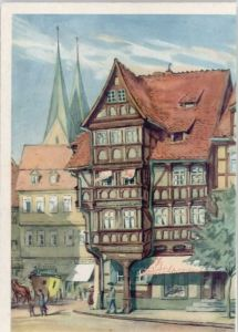 Halberstadt Halberstadt Stelzfuss Kuenstlerkarte * / Halberstadt /Harz LKR