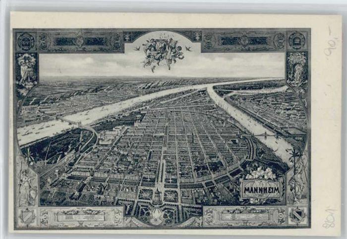 Mannheim Mannheim  * / Mannheim /Mannheim Stadtkreis