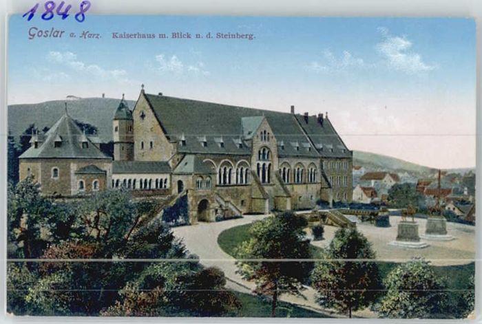 Goslar Goslar Kaiserhaus Steinberg * / Goslar /Goslar LKR