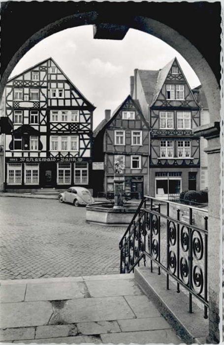 Hachenburg Westerwald Hachenburg Markt * / Hachenburg /Westerwaldkreis LKR