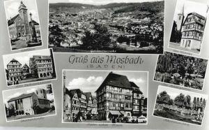 Mosbach Baden Mosbach Baden Cacilienkirche Rathaus Stadtgarten * / Mosbach /Neckar-Odenwald-Kreis LKR