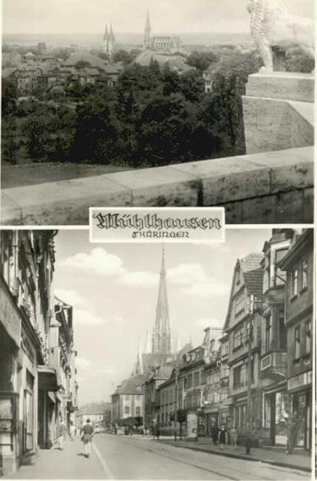 Muehlhausen Thueringen Muehlhausen Thueringen  x / Muehlhausen Thueringen /Unstrut-Hainich-Kreis LKR