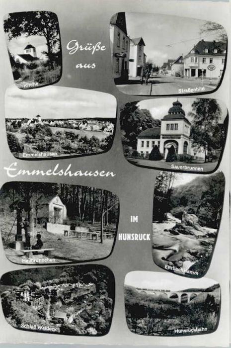Emmelshausen Emmelshausen Sauerbrunnen Ehrbachklamm Hunsrueckbahn x / Emmelshausen /Rhein-Hunsrueck-Kreis LKR