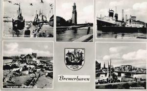 Bremerhaven Bremerhaven Fischdampfer Columbusbahnhof Tiergrotten * / Bremerhaven /Bremen Stadtkreis