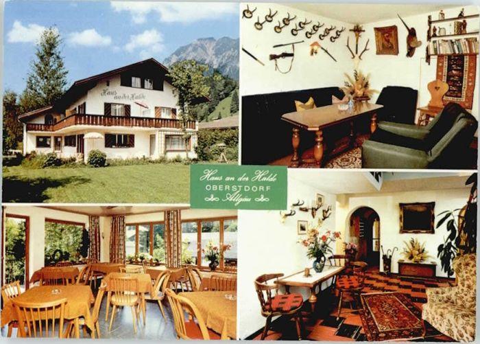 Oberstdorf Oberstdorf Hotel Pension Haus an der Halde * / Oberstdorf /Oberallgaeu LKR