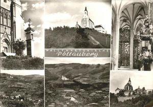 Poellauberg Wallfahrtskirche Panorama Sommerfrische Kat. Poellauberg Steiermark