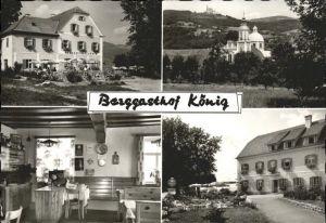Poellauberg Berggasthof Koenig Kat. Poellauberg Steiermark
