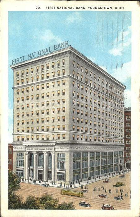 Youngstown Ohio First National Bank Kat. Youngstown