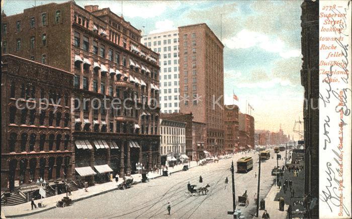 Cleveland Ohio Superior Street Rockefeller Building Kat. Cleveland